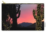 Christmas In Arizona Carry-all Pouch