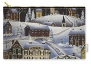 Christmas In Fox Creek Village Carry-all Pouch