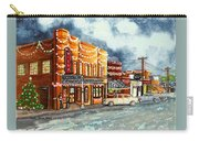 Christmas In Villa Rica 1950's Carry-all Pouch
