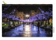 Christmas Lights In Gijon Carry-all Pouch