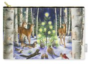 Christmas Magic Carry-all Pouch by Lynn Bywaters