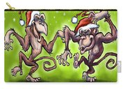 Christmas Monkeys Carry-all Pouch