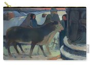 Christmas Night Blessing Of The Oxen Carry-all Pouch
