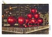 Christmas On 5th Avenue Manhattan 1 Carry-all Pouch
