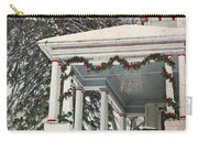Christmas On The Veranda  Carry-all Pouch