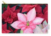 Christmas Pointsettia Carry-all Pouch
