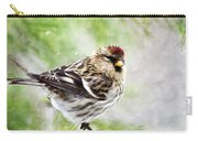 Christmas Redpoll Carry-all Pouch