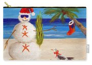 Christmas Sandman Carry-all Pouch by Jamie Frier