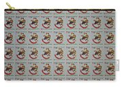 Christmas Seals 1981 Carry-all Pouch