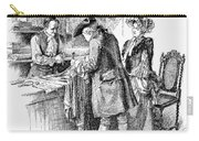 Christmas Shopping, C1750 Carry-all Pouch