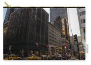 Christmas Shopping On The World Famous Fifth Avenue Carry-all Pouch