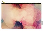 Christmas Snowing Blizzard Bokeh Background Carry-all Pouch