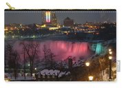 Christmas Spirit At Niagara Falls Carry-all Pouch