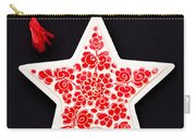 Christmas Star Carry-all Pouch by Anne Gilbert