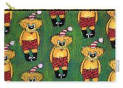 Christmas Teddies Carry-all Pouch