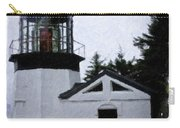 Christmas Time At Cape Meares Lighthouse Carry-all Pouch