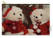 Christmas Time Bears Carry-all Pouch