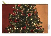 Red And Gold Christmas Tree Without Caption Carry-all Pouch
