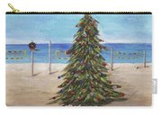Christmas Tree At The Beach Carry-all Pouch