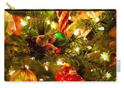 Christmas Tree Background Carry-all Pouch by Elena Elisseeva