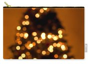 Christmas Tree Bokeh Carry-all Pouch