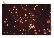 Christmas Tree Lights Carry-all Pouch