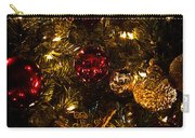 Christmas Tree Ornaments 3 Carry-all Pouch