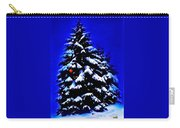 Christmas Tree With Red Ball Carry-all Pouch