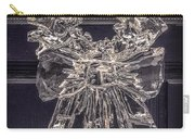 Christmas Wreath Ice Sculpture Carry-all Pouch