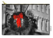 Christmas Wreath In Charleston Carry-all Pouch