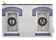 Christmas Wreaths  Carry-all Pouch