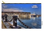 Christopher Columbus Park Waterfront Carry-all Pouch by Joann Vitali