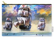 Christopher Columbus's Fleet  Carry-all Pouch