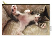 Christopher Paws Up Carry-all Pouch