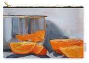 Chrome And Oranges Carry-all Pouch