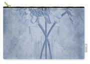 Chrysanthemum Cyanotype Carry-all Pouch