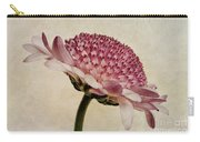Chrysanthemum Domino Pink Carry-all Pouch