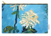 Chrysanthemum Floral Carry-all Pouch