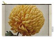 Chrysanthemum Grandiflorum Yellow Carry-all Pouch