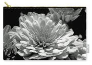 Chrysanthemum In Light And Shadow Carry-all Pouch