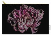 Chrysanthemum Scribble Carry-all Pouch