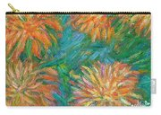 Chrysanthemum Shift Carry-all Pouch