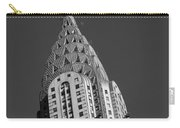 Chrysler Building Bw Carry-all Pouch