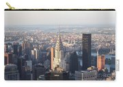 Chrysler Building From The Empire State Building Carry-all Pouch