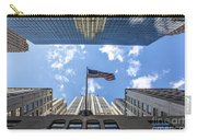 Chrysler Building Reflections Horizontal Carry-all Pouch