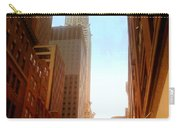 Chrysler Building Rises Above New York City Canyons Carry-all Pouch