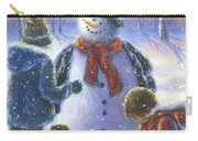 Chubby Snowman  Carry-all Pouch