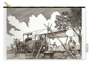Chuckwagon Cattle Drive Breakfast Carry-all Pouch