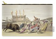 Chulos Playing The Bull, 1865 Carry-all Pouch