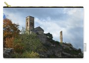 Church And Castle In Puente De Montanana  Carry-all Pouch
